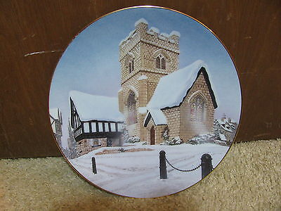 Christmas Carol Collector Plate - The David Winter Collection/Cottages - NEW