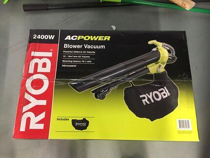 RYOBI Electric blower vacuum