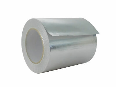 Wod Heavy-duty Aluminum Foil Tape For Hvac Air Ducts 6 In. X 50 Yds