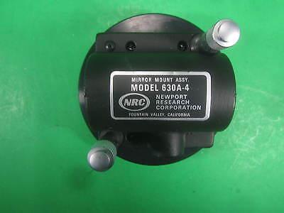 Newport Mirror Mount Assembly Optics Dia 3 Od -- 630a-4 -- Used