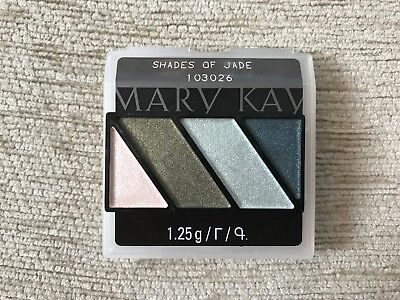 Mary Kay® Mineral Eye Color Quad (SHADES OF JADE) bis 01/20+Geschenk