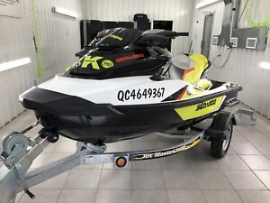 SEA-DOO Wake pro 215hp 2015 **trailer presque neuf inclus**