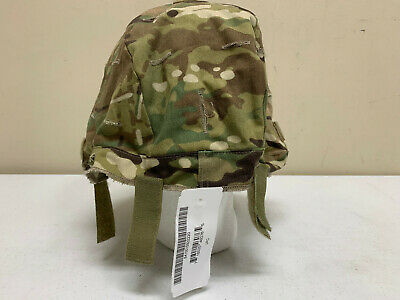 ARMY ISSUED OCP MULTICAM ACH MICH HELMET COVER W/IR TABS SIZE LARGE/X-LARGE 2220