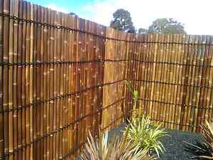 Bamboo Fence Panels Cranbourne Casey Area Preview