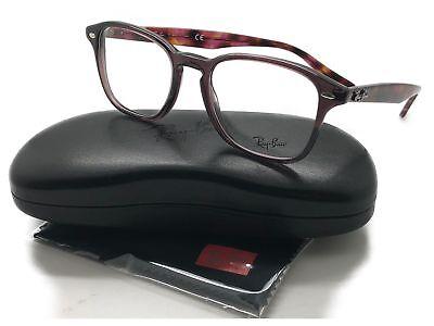 47042add464 RayBan RB 5352 Plastic Eyeglass Frame 5628 Plum Purple 50MM