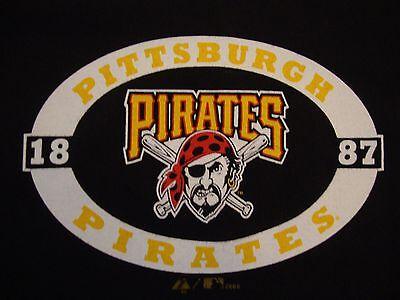 MLB Pittsburgh Pirates Baseball Sportswear Fan Apparel Ringer T Shirt Size XL