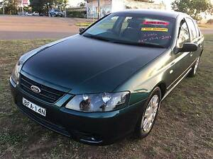 2006 Ford Falcon Sedan LONG REGO 3 YEARS WARRANTY AND 1 YEAR ROAD Greta Cessnock Area Preview