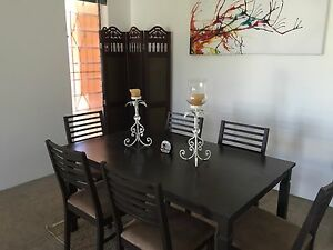 Dining table and chairs Toowong Brisbane North West Preview