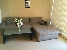 Chaise Lounge, Light Grey in mint condition Ryde Area Preview