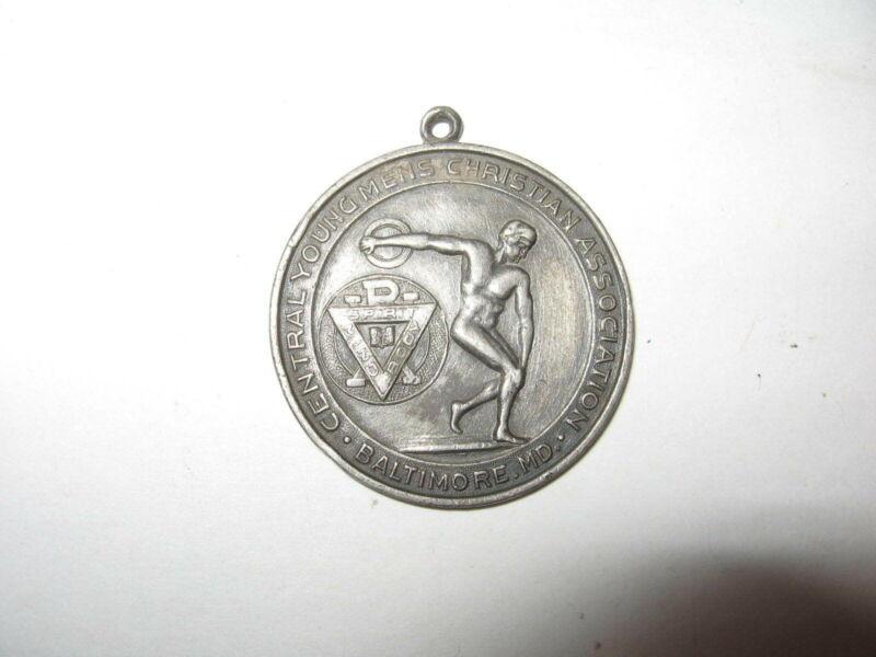 1911 YMCA Silver Medal Baltimore MD - 100 Yds Dash