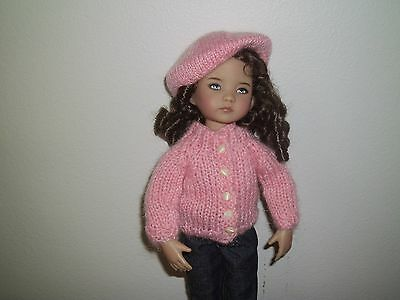 """SALE NO DOLL DARLING  SWEATER & TAM FOR 13"""" EFFNER L. DARLING For BETSY BLEUETTE"""