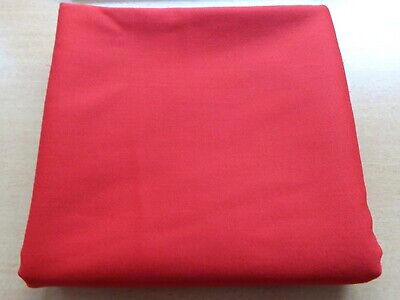 STRACHAN SPRO RED 6X3 SNOOKER/POOL TABLE SPEED (NAPLESS) BED ONLY CLOTH