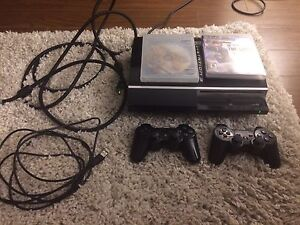 Ps3, 2 controller, 2 games