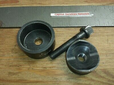 Vintage Greenlee Model 730 1-38 Radio Chassis Punch 5004004 5004005