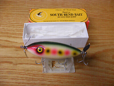 LUHR JENSEN SOUTH BEND BASS ORENO SPECIAL EDITION 80TH ANNIVERSARY FISHING LURE