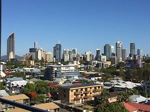 Top floor bedroom, Stylish pad with city view, Clean, Neat Kangaroo Point Brisbane South East Preview