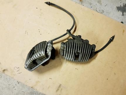 VL turbo, V8 front brake calipers