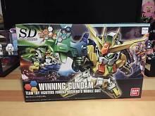 NEW Bandai SD Winning Gundam model kit Merrimac Gold Coast City Preview