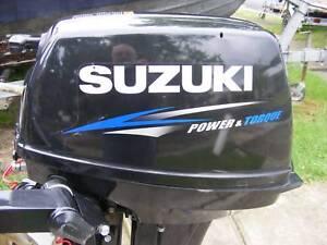 SUZUKI 2014 15HP OUTBOARD MOTOR