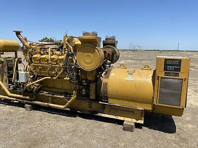 600 Kw Cat G3512 Natural Gas Generator Sets 1200 Rpm - 2 Available