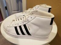 D69361 Size 4.5 Adidas Pro Model J Black//Black//Black GS