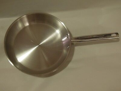 "Crofton Cookware Copper Bottom Stainless 9 1/2"" Skillet/Fry Pan"