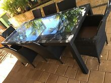 11 piece  outdoor setting table and chairs Willagee Melville Area Preview