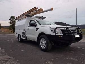 2014 Ford Ranger Ute Suit ISGM, BSA, NBN Ex Telstra Lithgow Lithgow Area Preview