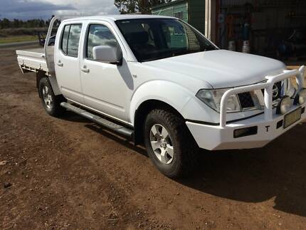 2010 Nissan Navara Dual cab 4X4 Forbes Forbes Area Preview