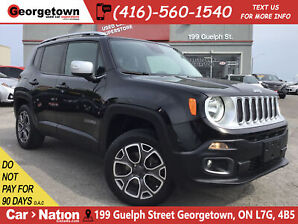 2015 Jeep Renegade Limited | 4X4 | LEATHER | BU CAM|BLU TOOTH|ALLOYS