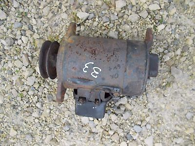 Massey Harris 33 Mh Tractor Good Working 6v Generator W Belt Pulley