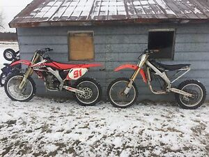 2006 and 2004 CRF 250R *must sell*
