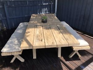 West Elm Outdoor Dining Table Umbrella Dining Tables Gumtree