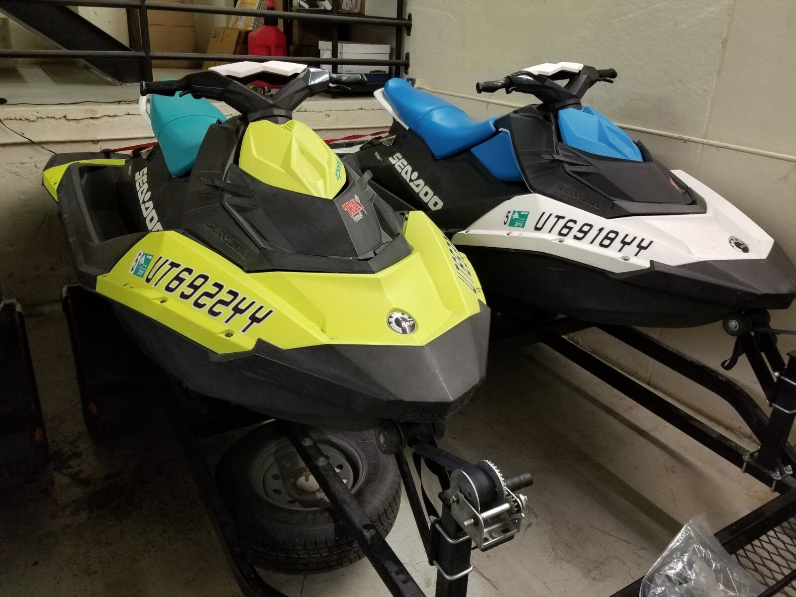 2018 Sea-Doo Spark 3-up 90HP with IBR