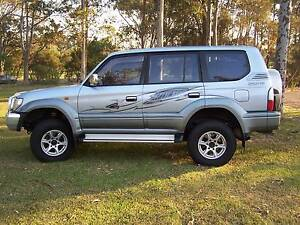 2002 Toyota LandCruiser Wagon (DUAL FUEL - PETROL & GAS) Wadalba Wyong Area Preview