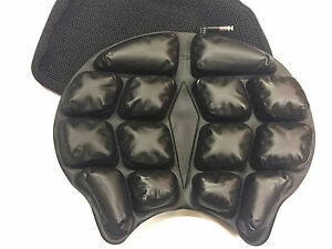 Motorcycle Air Seat Cushion like brand names BUT durable 2x's thick Poly insert