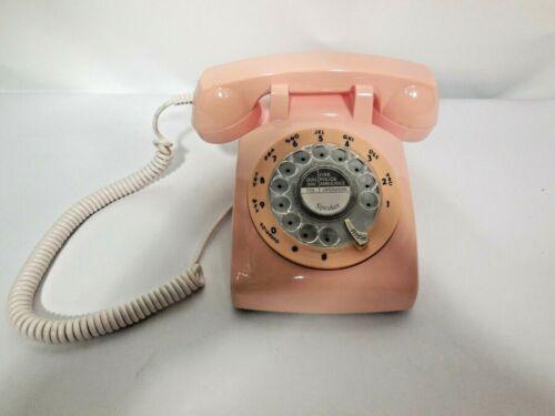 Pink Rotary Phone 1960