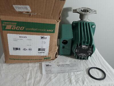 Taco 0013-sf3 Hot Water Circulator Pumpss 16 Hp
