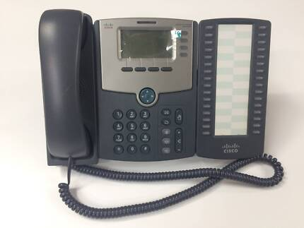 NEW 4-Line Office Phone (Cisco SPA504G) + Expansion (SPA500S)