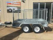 8X5 GALVANISED Tandem Axle Cage Trailer Para Hills West Salisbury Area Preview