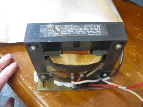 Vintage RARE Blacklight Transformer for 100W Mercury Vapor Lamp HZ-60 # W126T