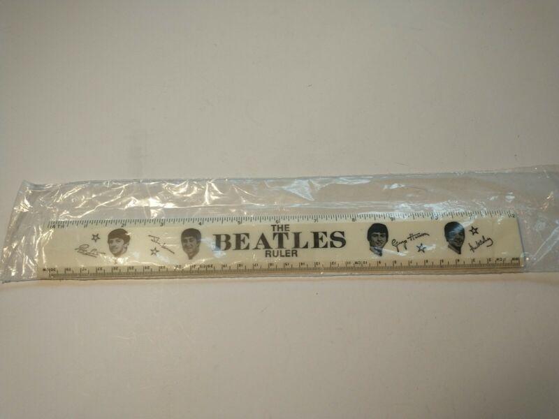 Vintage Beatles Double-Sided Ruler 1964 NEMS ENT. LTD.