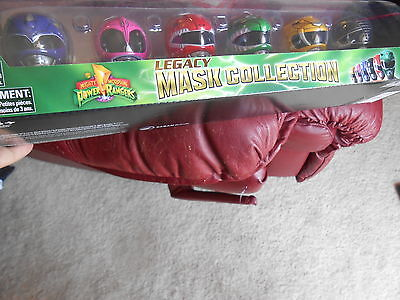 power rangers mask collection blue pink red green yellow black LEGACY new  (Green Power Ranger Mask)