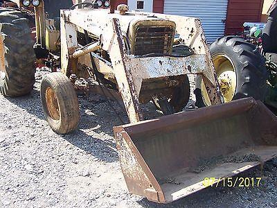 International 656 Utility Tractor Needs Engine Overhaul Tractor Only