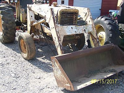 International 656 Utility Tractor Needs Engine Overhaul Tractor Only
