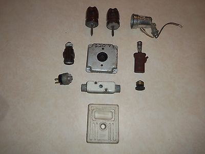 Large Lot of Vintage Electrical Items