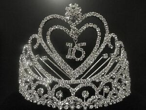 sweet 16 crown tiaras  headbands  ebay