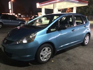 PERFECT CONDITION HONDA FIT DX-A 2012