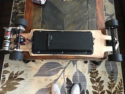 Electric Longboard (custom built, 40mph+ , ~ 20 Mile Range)