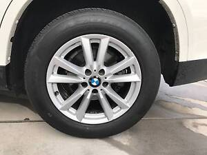 """Genuine BMW X5 18"""" set of wheels + near new tyres Googong Queanbeyan Area Preview"""